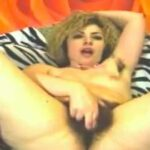 Hairy Slut Pleasures Herself On Live Cam